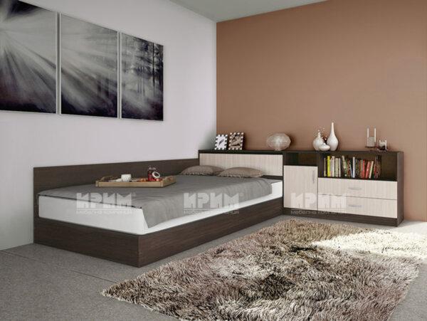 Спален комплект Сити 7003 120x190