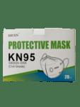 Предпазна маска KN95, за многократна употреба с клапан против мръсен въздух, вируси и бактерии-Copy