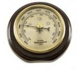 Стенен метален барометър, 1054