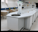 Остров лабораторен М 2400х1500х(900+900)мм