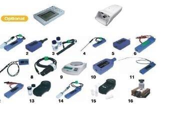 Примерен Пакет MBL сензори: ХИМИЯ включва сензори за:
