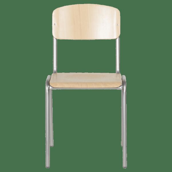 Ученически дървен стол