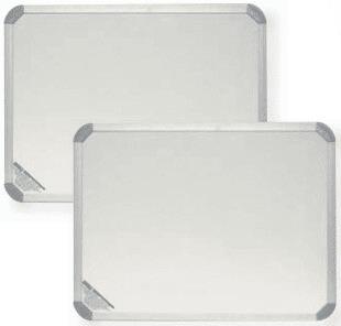 Бяла магнитна дъска, 240 см х 120 см