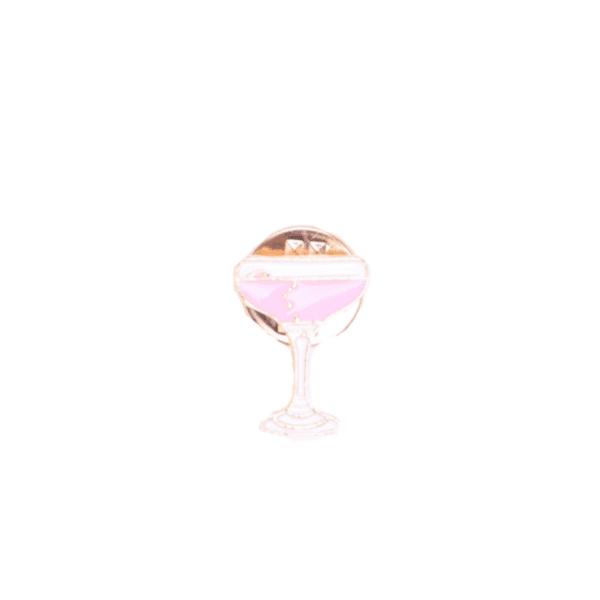 Брошка пинче коктейлна чаша