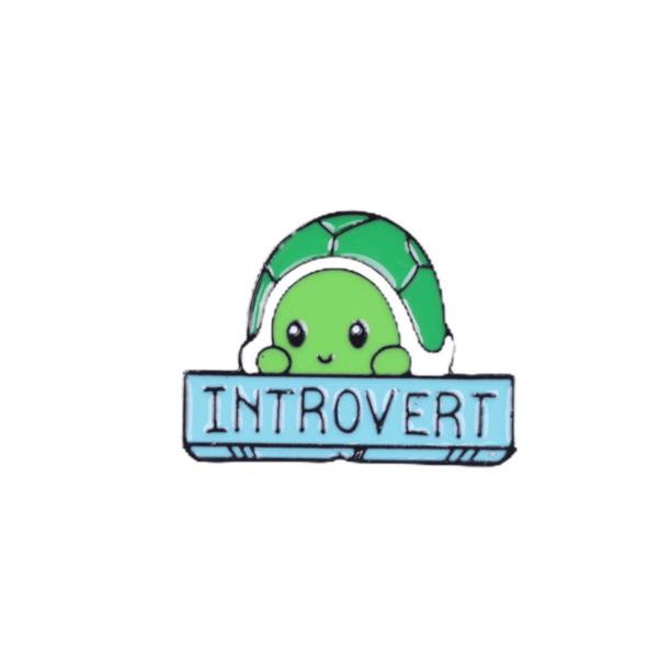 Брошка пинче костенурка интроверт