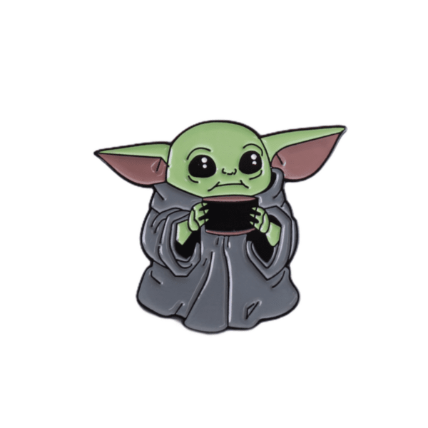 Брошка пинче Baby Yoda