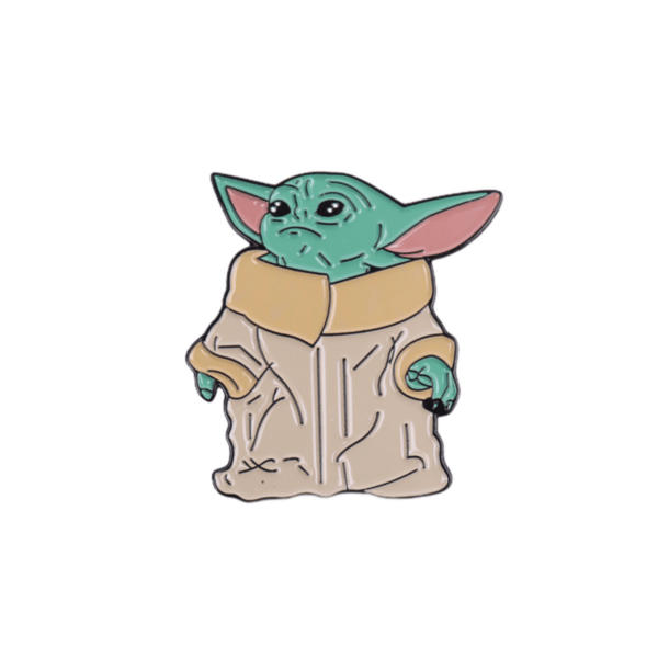 Брошка пинче Yoda