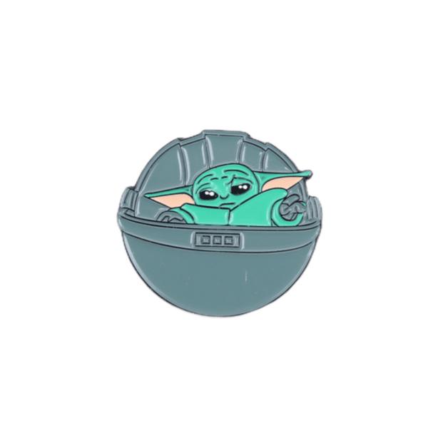 Брошка пинче бебе Йода