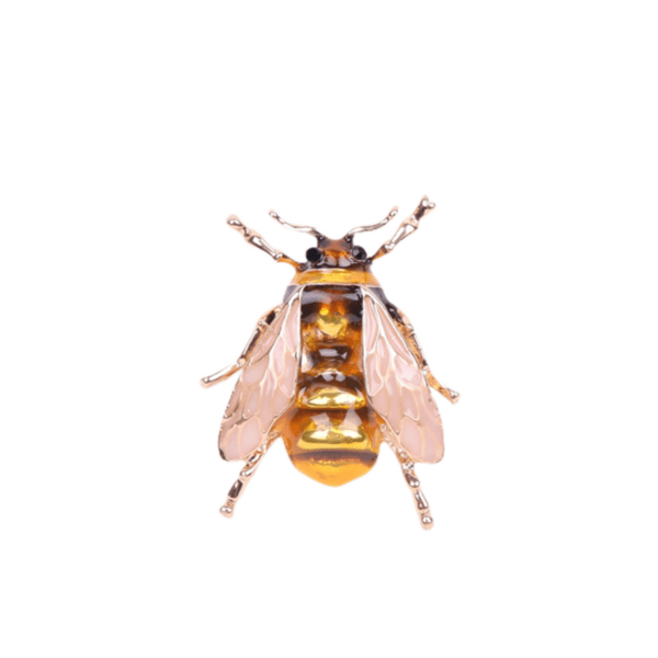 Брошка златиста пчеличка