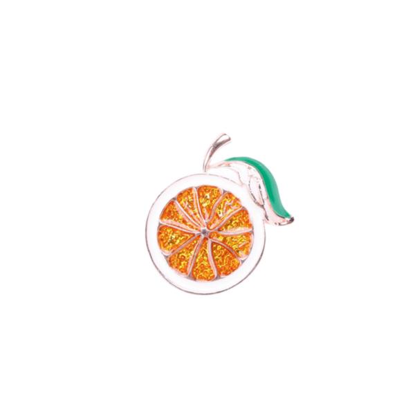 Брошка портокал