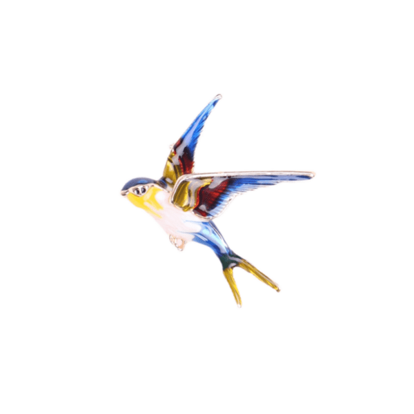 Брошка птица