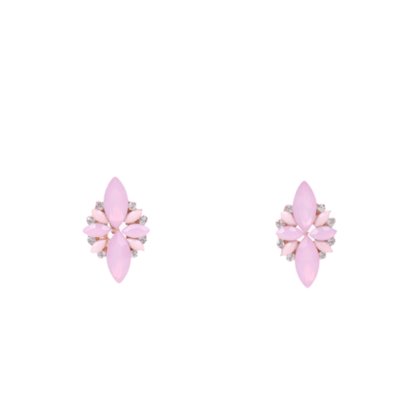 Обеци в розово VITORIA
