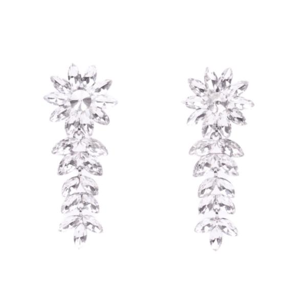 Обеци с кристали JANETTE