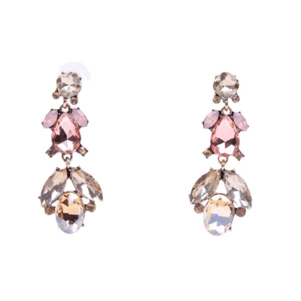 Обеци с кристали OMNIA