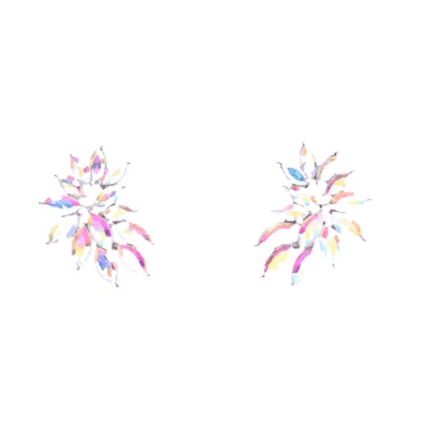 Обеци с кристали AZIA