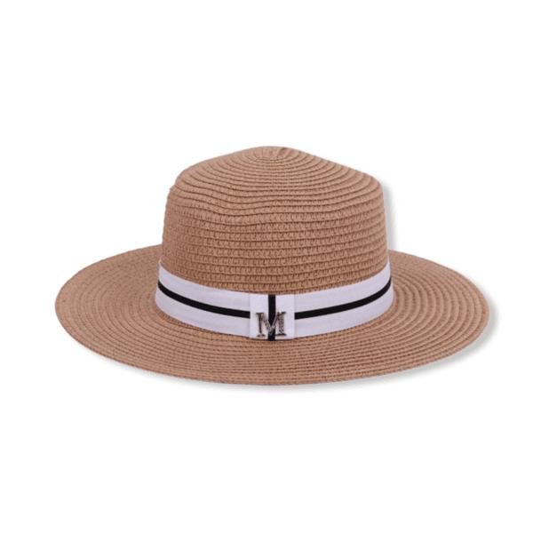 Сламена шапка с малка периферия 'SANTORINI'