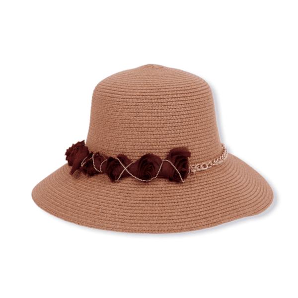 Стилна плетена плажна шапка 'BAHAMA'