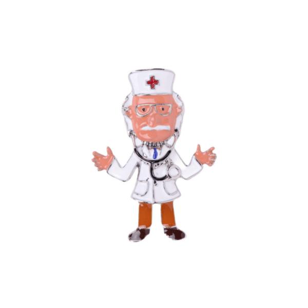 Брошка доктор