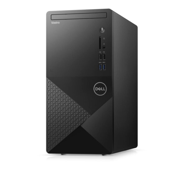 Dell Vostro 3888 MT, Intel Core i5-10400 (12M Cache, up to 4.3 GHz), 8GB (1x8GB) 2666MHz DDR4, 256GB SSD PCIe M.2, DVD+/-RW, Intel UHD 630, 802.11n, BT 4.2, Keyboard&Mouse, MS Win10 Pro, 3Y