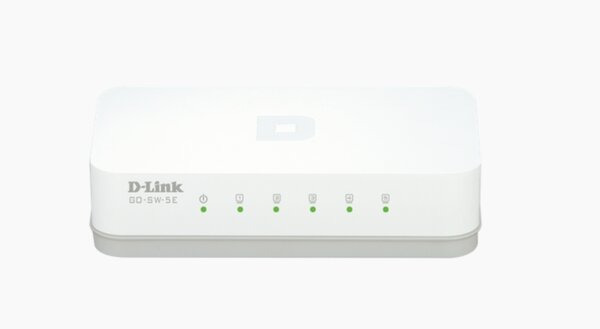 D-Link 5-Port 10/100M Desktop Switch