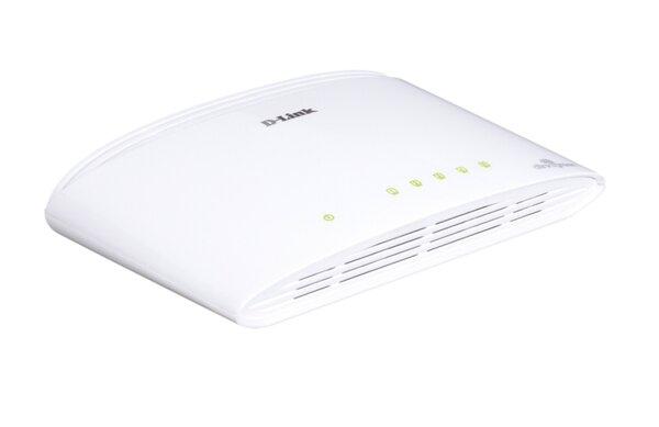 D-Link 5-Port 10/100/1000Mbps Copper Gigabit Ethernet Switch