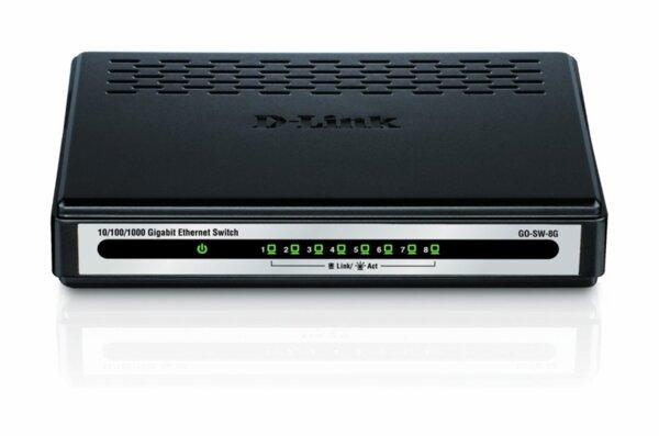 D-Link 8-Port Gigabit Easy Desktop Switch
