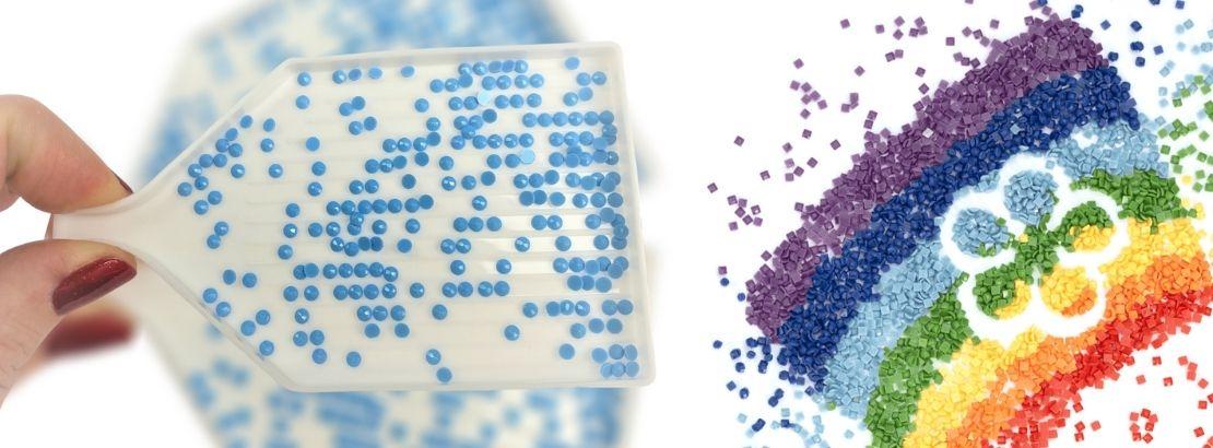 Каква е разликата между кръгли и квадратни диамантени мъниста
