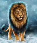 Диамантен гоблен Лъв 50 х 50 см