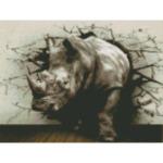 """Диамантен Гоблен """"Котенце с Прежда"""" - 30 x 40 см, Кръгли мъниста-Copy"""