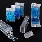 Кутия за съхранение на диамантени мъниста - 56 гнезда-Copy