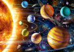 Диамантен гоблен Планети 60 x 40