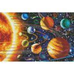 Визуализация на елмазен гоблен Планети