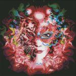 Визуализация на диамантен гоблен Жената-тигър