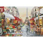 Визуализация на елмазен гоблен Париж