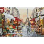 Визуализация на диамантен гоблен Париж