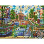 Визуализация на елмазен гоблен Амстердам