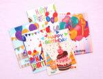 6 броя диамантени картички за рожден ден