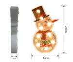 Размери на диамантена лампа Снежен човек