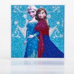Детски диамантен гоблен Елза и Ана