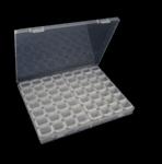 Органайзер за съхранение на диамантени мъниста - 56 гнезда
