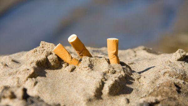 Природата не е пепелник!