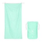 Бързосъхнеща кърпа за спорт Зелена