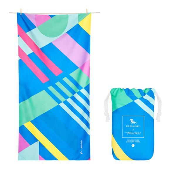 Бързосъхнеща кърпа за плаж TED Kelly
