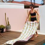 Бързосъхнеща кърпа за плаж WDC-Copy