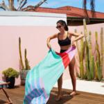 Бързосъхнеща кърпа за плаж TED Kelly-Copy