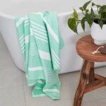 Бързосъхнеща кърпа за баня Евкалипт