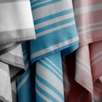 Бързосъхнеща кърпа за баня Синя