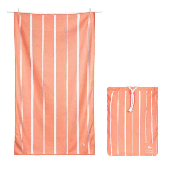 Бързосъхнеща кърпа за баня Сладък портокал