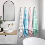 Бързосъхнеща кърпа за баня Жасмин