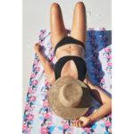 Бързосъхнеща плажна кърпа Токан
